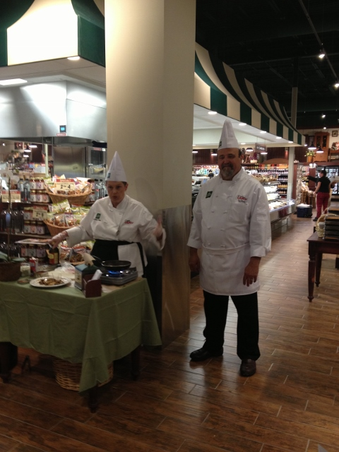 the fresh market chef demo