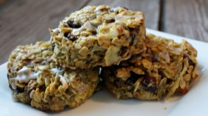 autumn harvest breakfast cookies