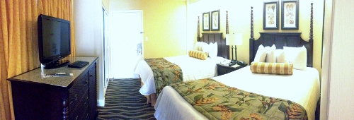 bedroom suite at tradewinds
