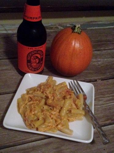 mac 'n cheese with pumpkin