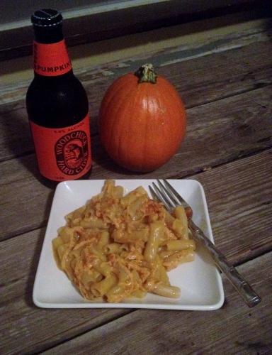 Pumpkin Mac 'n Cheese (gluten-free, dairy-free, vegan)