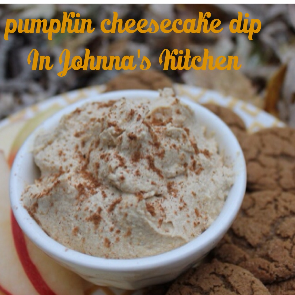 Pumpkin Cheesecake Dip | In Johnna's Kitchen