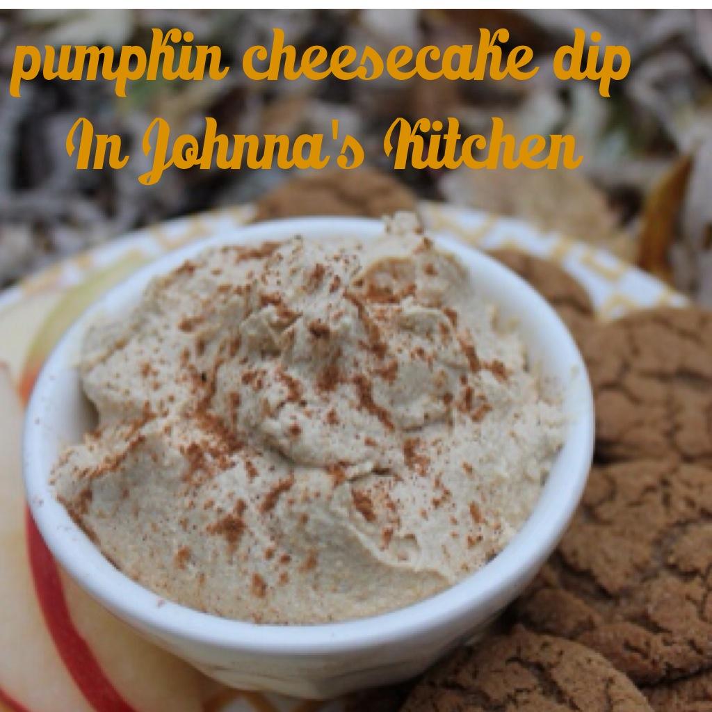 Pumpkin Cheesecake Dip | In Johnna's Kitchen