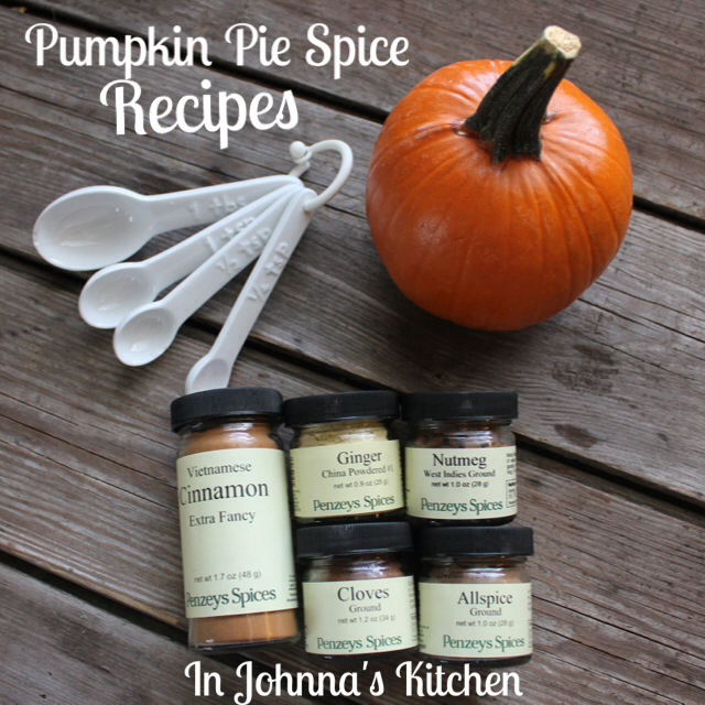 Make your own pumpkin pie spice!