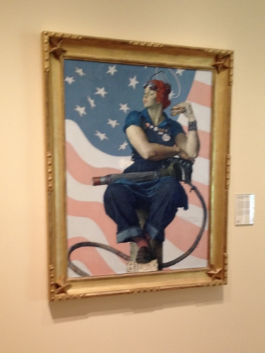 Rosie the Riveter by Norman Rockwell