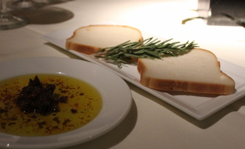 palm court bread and tapenade