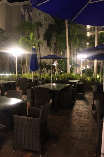 palm court patio