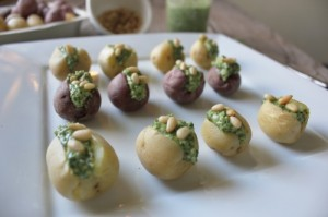 pesto stuffed mini potatoes in johnna's kitchen (500x333)