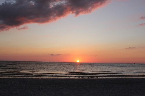 sunset at tradewinds