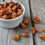 Sweet Ginger Sriracha Roasted Cashews recipe In Johnna's Kitchen