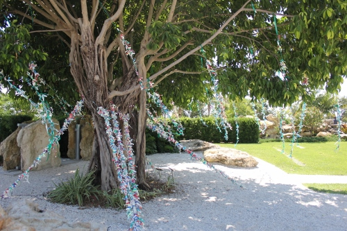 The Wish Tree at The Dali Museum