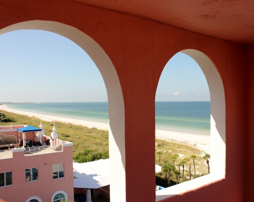 Don CeSar Tower with view of the spa | In Johnna's Kitchen
