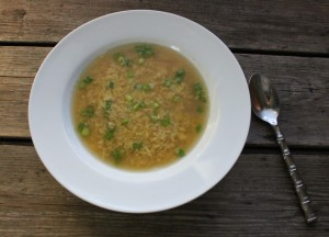 egg flower soup In Johnna's Kitchen