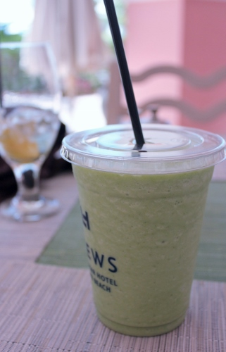 Kale Smoothie at Sea Porch | In Johnna's Kitchen