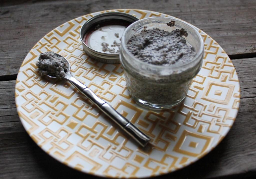 nog chia pudding in a jar In Johnna's Kitchen