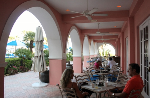 Sea porch at Don CeSar | In Johnna's Kitchen