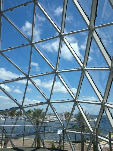 view from inside The Dali
