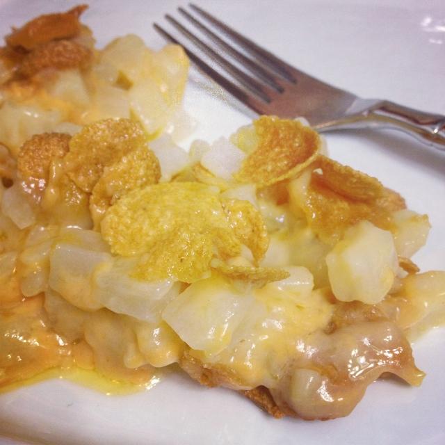 Cheesey Hashbrown Casserole  In Johnna's Kitchen