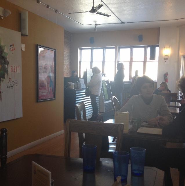Inside New World Cafe Des Moines