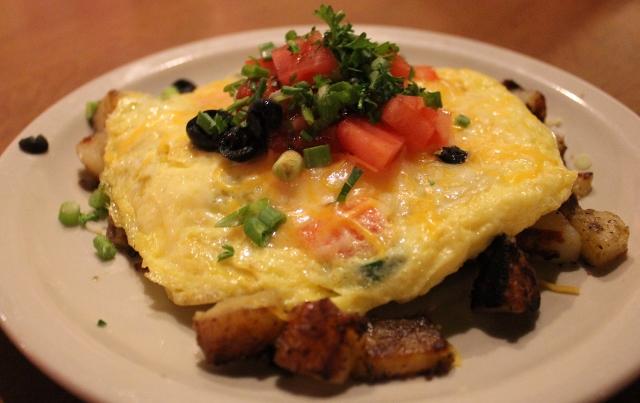 Chef's Scramble Mud Street Cafe  Eureka Springs AR | In Johnna's Kitchen