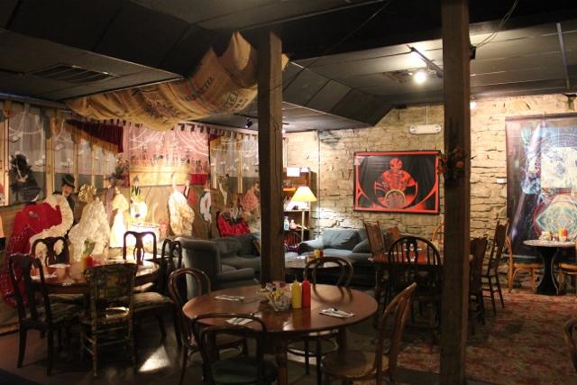 Mud Street Cafe Eureka Springs AR dining area | In Johnna's Kitchen
