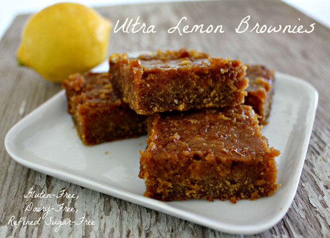 Ultra Lemon Brownies | In Johnna's Kitchen