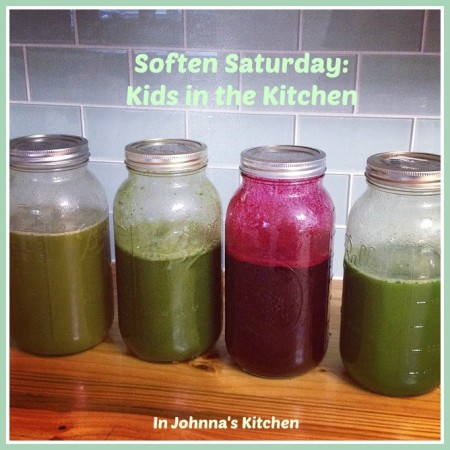 Soften Saturday Kids in the Kitchen