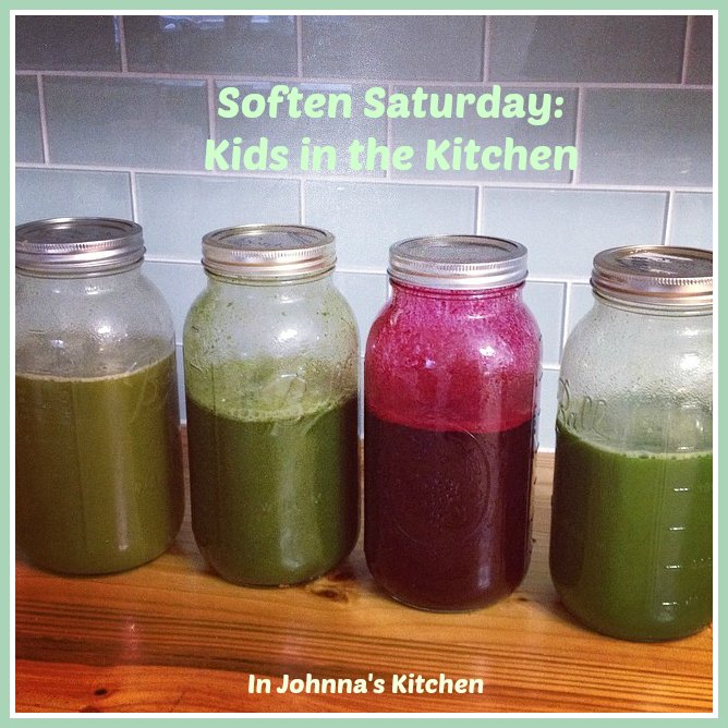 Soften Saturday Kids in the Kitchen