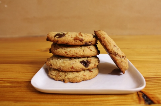 Bourbon Bacon Chocolate Chip Cookies