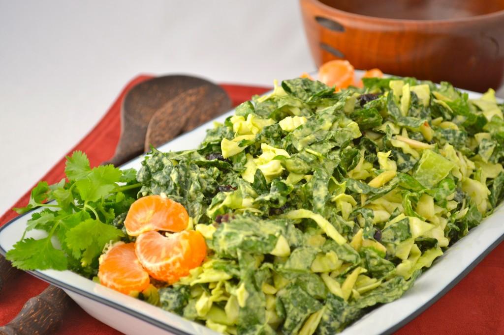 crunchy ginger orange salad