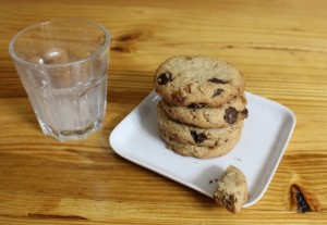 Bourbon Bacon Chocolate Chip Cookies | In Johnna's Kitchen