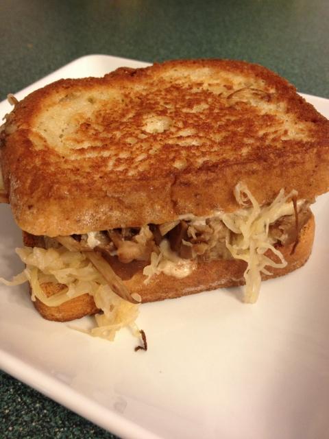 Jackfruit Reuben Sandwich   In Johnna's Kitchen