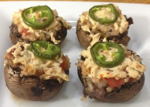 Mexican Stuffed Mushrooms | In Johnna's Kitchen