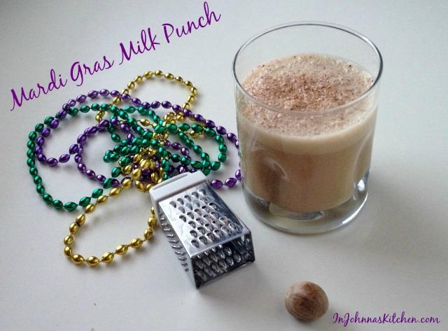 milk punch in johnna's kitchen