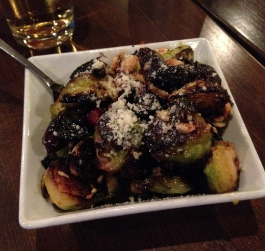 Pizza Bella Brussels Sprouts