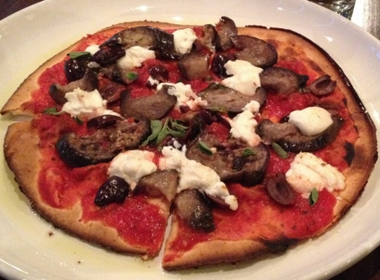 Pizza Bella Roasted Eggplant Gluten-Free Pizza