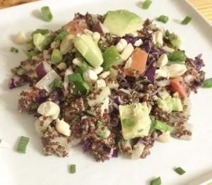 Cashew Crunch Quinoa Salad | In Johnna's Kitchen