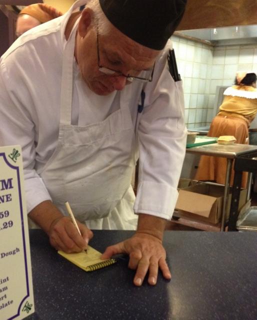 Chef Malcolm at Sassagoula Floatworks