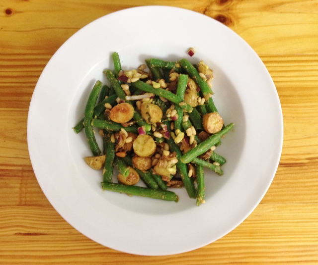 Roasted Potato & Green Bean Salad | In Johnna's Kitchen