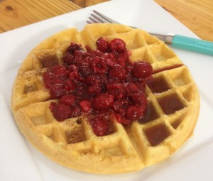 Lazy Morning Belgian Waffles (gluten-free, dairy-free) | In Johnna's Kitchen