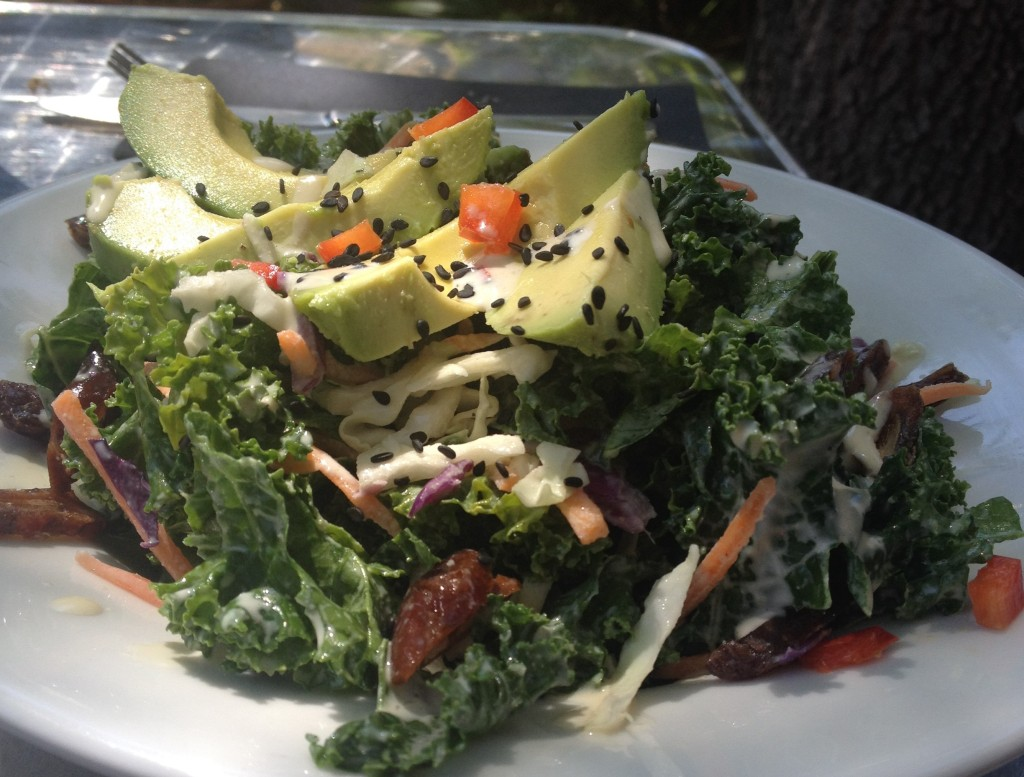 Citrus Kale Salad Cafe 118 | In Johnna's Kitchen
