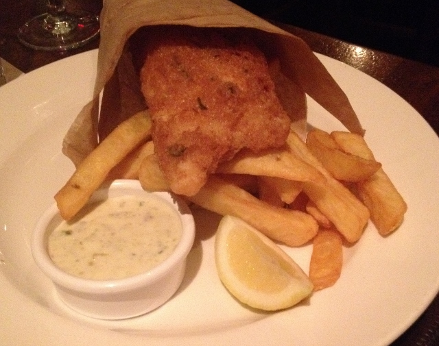 Gluten-Free fish and chips at Raglan Road | In Johnna's Kitchen