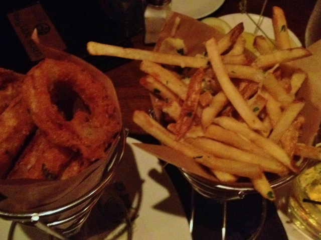 Gluten-Free Onion Rings and Skinny Chips at Raglan Road | In Johnna's Kitchen