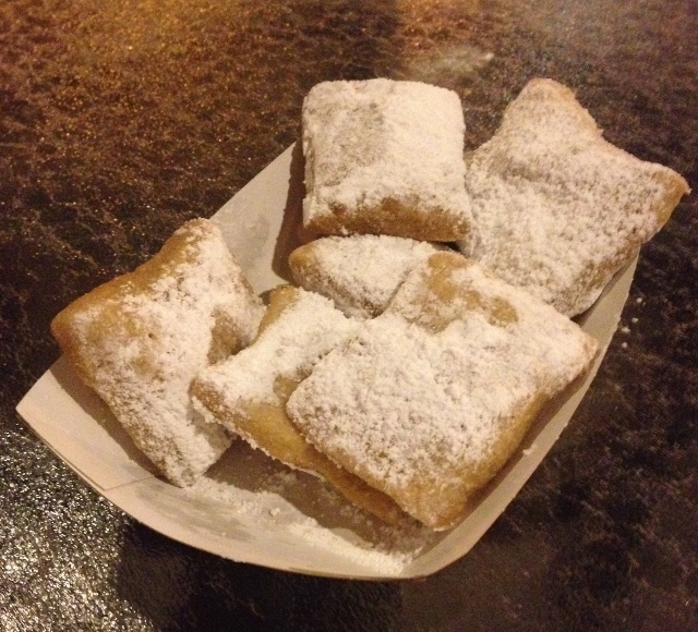 gluten free beignets six at sassagoula
