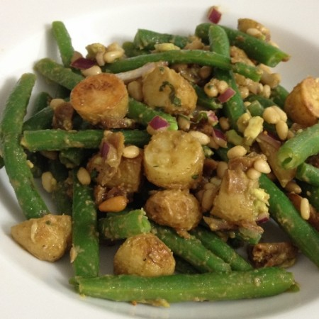 roasted potato and green bean salad | In Johnna's Kitchen