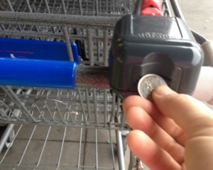 ALDI put a quarter in the cart