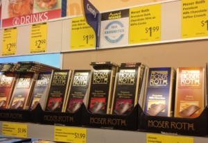 Chocolate at ALDI