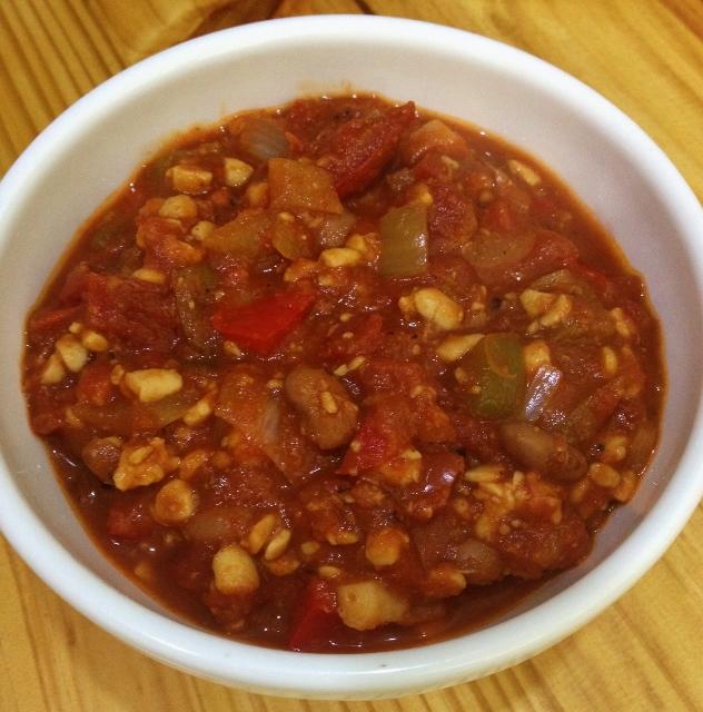 Chunky Veggie Chili | In Johnna's Kitchen