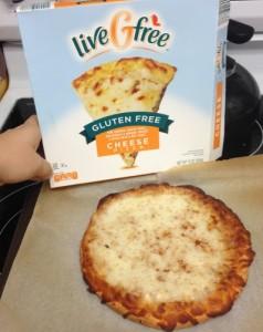 Gluten-Free Frozen Pizza ALDI
