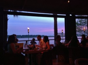 Rocco's Tacos Orlando Sunset over Little Sand Lake